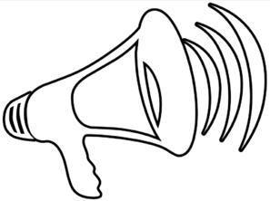 megaphone-outline-md
