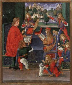 Maximilian_Sforza_Attending_to_His_Lessons_(Donatus_Grammatica)